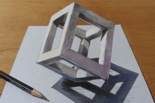 3D CAD Drawing Sample Showing how 3D can be made