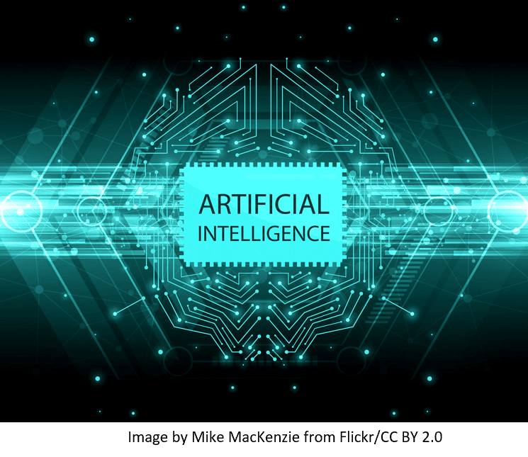 Artificial intelligence represented by electric coding
