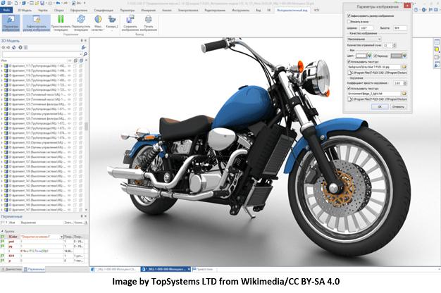 Mechanical motorbike
