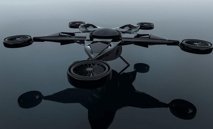 Drone 3D CAD Model
