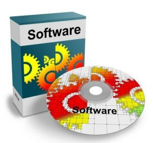 CAD Software - A colourful CAD CD with a box