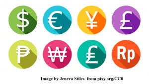 CAD Services Cost represented by many currencies